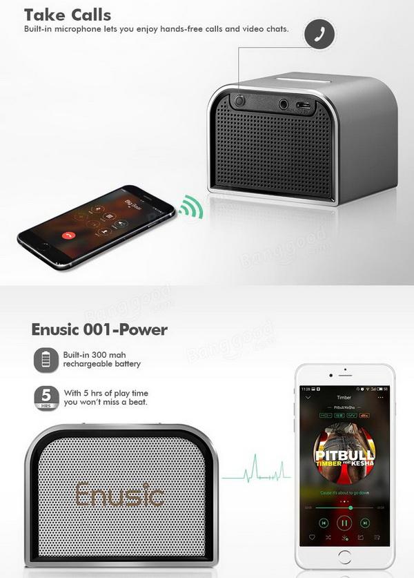 Enusic 001 Bluetooth Speaker