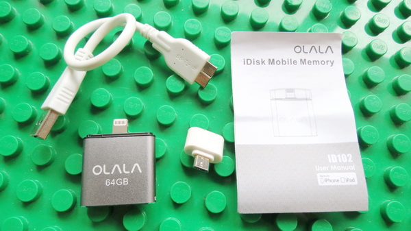 OLALA ID102 64GB iDisk USB Flash Drive