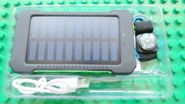 Solar Panel 10000mAh Power Bank
