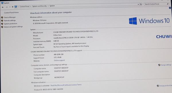 Download from here Windows 10 drivers for Chuwi HiBox Hero Mini PC