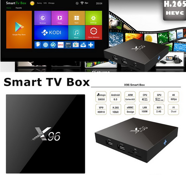 Download Android Marshmallow 6 0 firmware for X96 TV Box - China