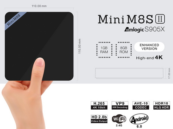 Download Android Marshmallow 6 0 firmware for Mini M8S II TV