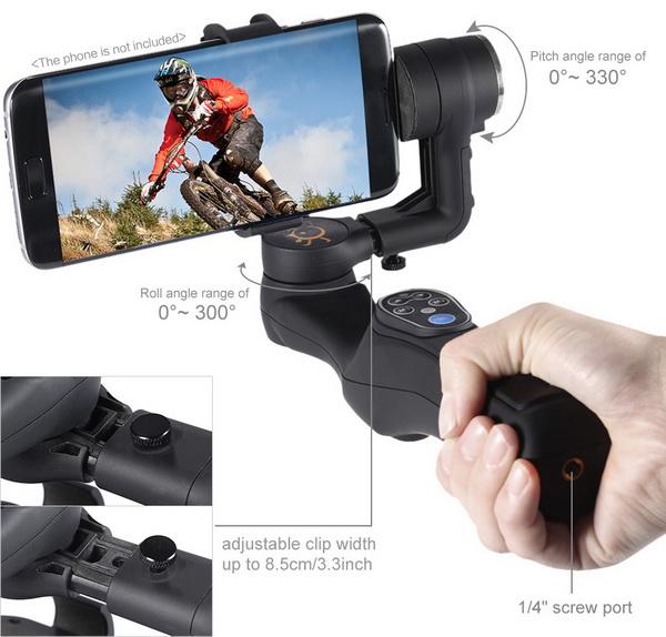Lightweight ABS 2 Axis Handheld