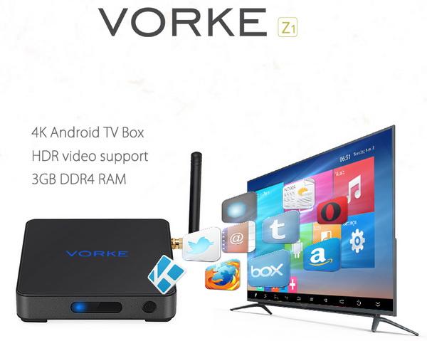 Vorke Z1 TV Box