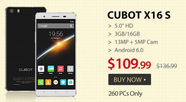 Cubot Brand Big Flash Sale
