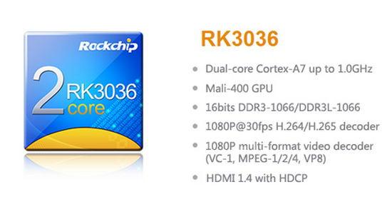 Rockchip RK3036