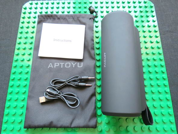 Aptoyu Bluetooth Portable Speaker