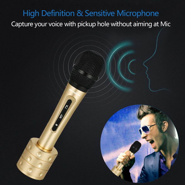 Karaoke Player Condenser Microphone