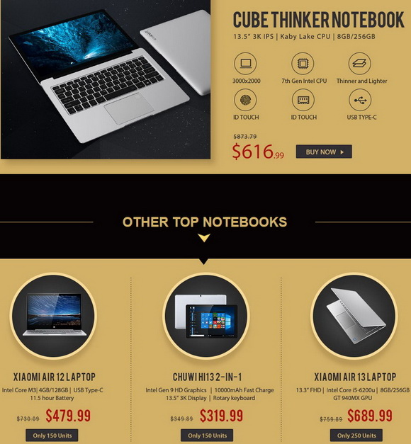 Cube Thinker 3K Notebook