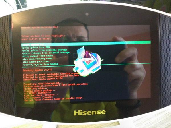 How I managed to unbrick Hisense MA-317 SoundPad Media