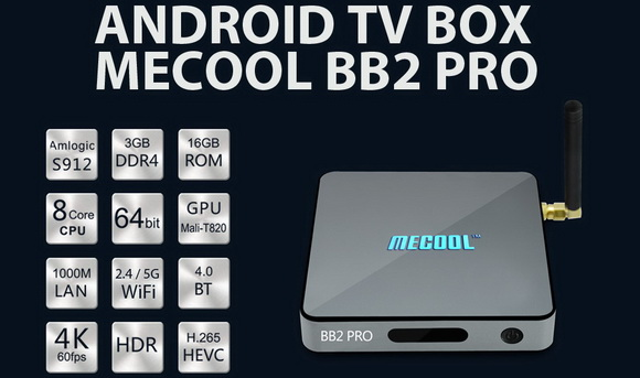Download Android 7 1 1 stock firmware for Mecool BB2 Pro TV