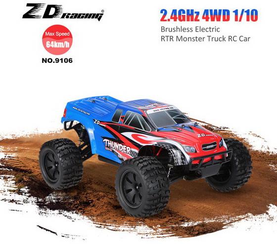 ZD Racing NO.9106 Thunder ZMT-10