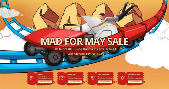 Mad for May Sale