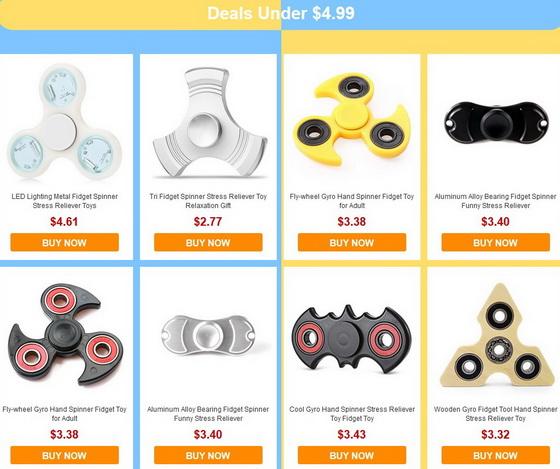 Spinner Fidgets