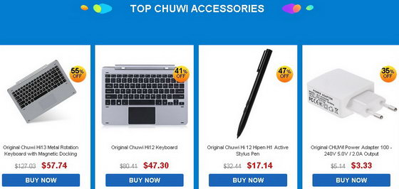 Chuwi Power Notebooks