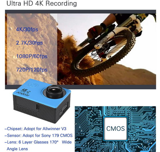 Sports Action Camera