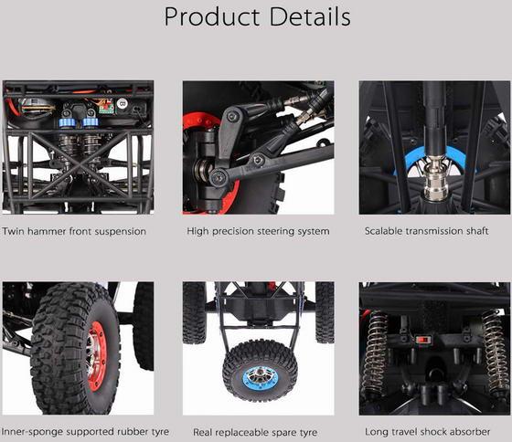 Coupon Code Alert! WLtoys 10428-C2 4WD Rock Crawler Buggy RC Car