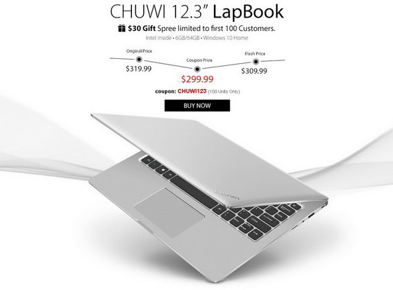 Chuwi 12.3'' Lapbook