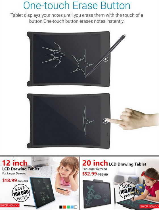 Drawing Tablet for Kids