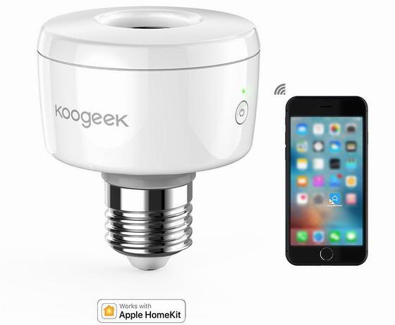 Koogeek Wi-Fi Smart Lamp Base