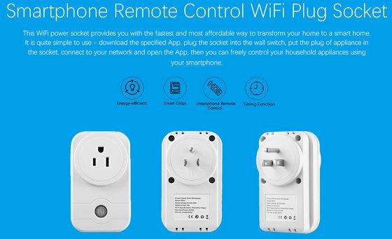 WiFi Plug Socket