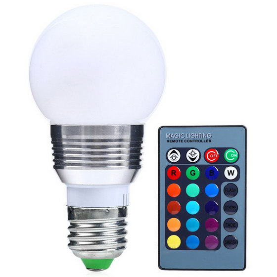 Coupon Code Alert! Color Change Lampada RGB LED E27 Bulb ...