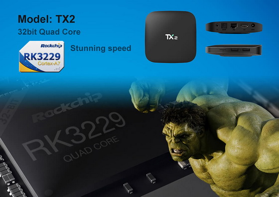 Download Android Nougat 7 1 2 stock firmware for Tanix TX2 TV Box