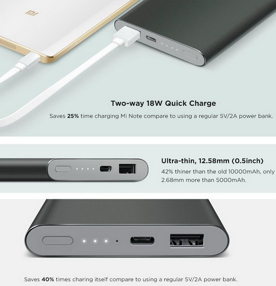 Xiaomi Mi Powerbank