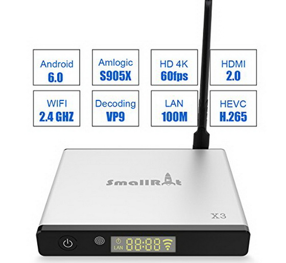 Download Android Marshmallow 6 0 firmware for SMALLRT X3 TV Box