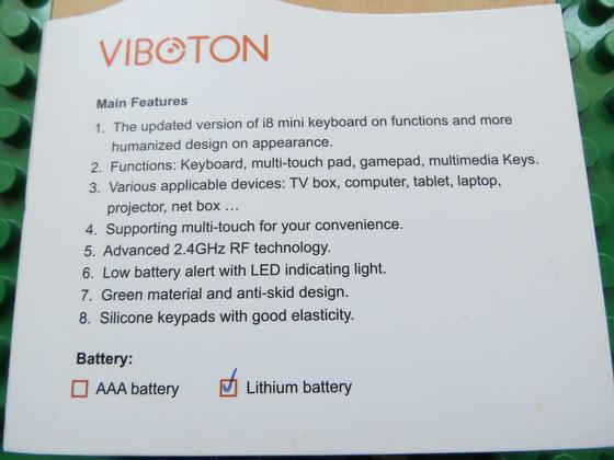 Viboton i8 Plus