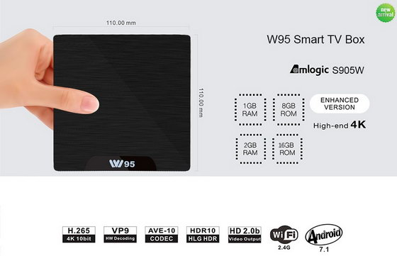 Download Android 7 1 2 stock firmware for W95 TV Box - China Gadgets