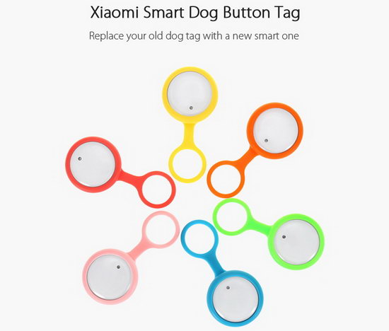 Smart Button Dog Tag
