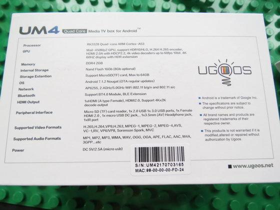 Ugoos UM4