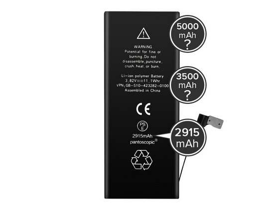 Genuine Battery Labels