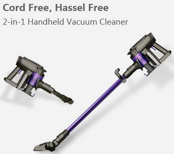 Coupon Code For Dibea F6 2 In 1 Cordless Upright Vacuum