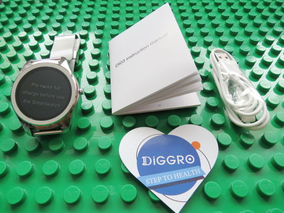 Unboxing DIGGRO DI03 Bluetooth Smart Watch - China Gadgets