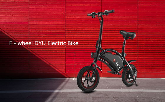 Coupon Code Alert F Wheel Dyu Electric Bike Gearbest