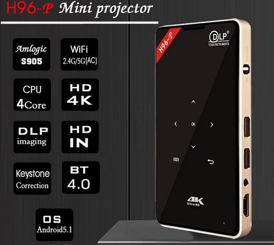 H96-P Mini Projector