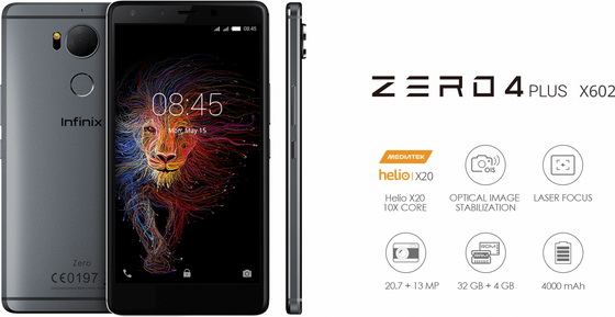 Download Android stock firmware for Infinix Zero 4 Plus Smartphone