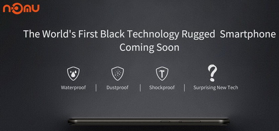 Black Technology Rugged Phone
