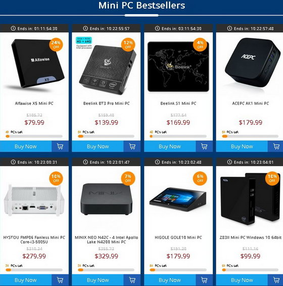 Mini PC Flash Sale