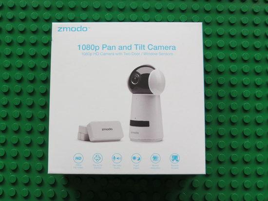 Unboxing Zmodo 1080p HD Pan and Tilt Camera ZH-IZV2F-WAC - China