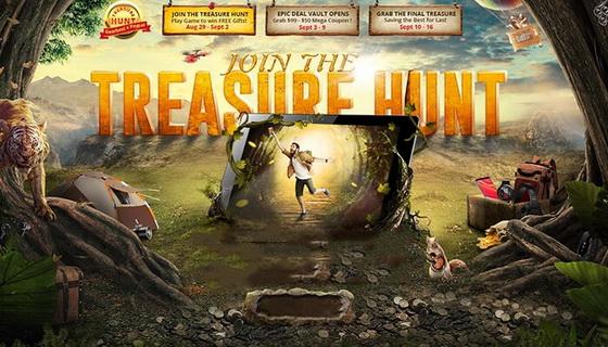 Epic Treasure Hunt Sale