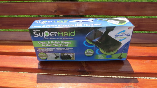 SuperMaid Electric Mop
