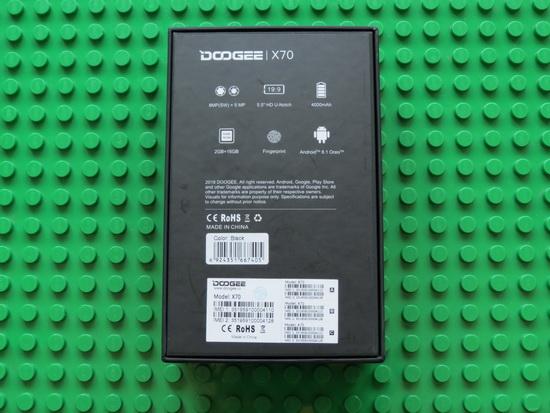 Doogee X70