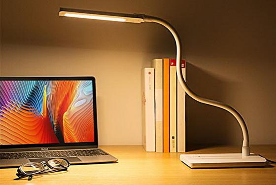 Hot! BESTEK Flexible Gooseneck LED Desk Lamp for only $12
