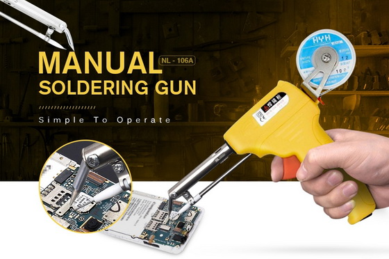 Manual Soldering Gun