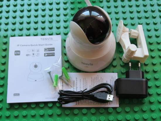 Unboxing Tenvis TH661 IP Camera with Motion Detection and