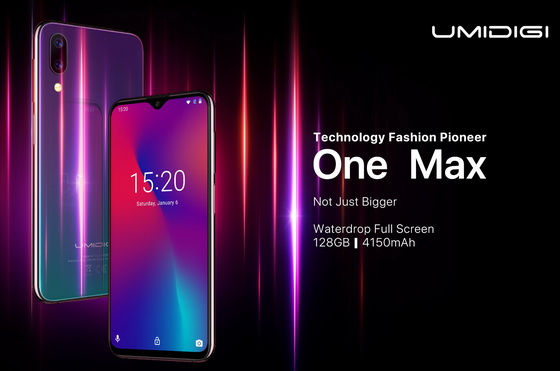 UMIDIGI One Max Officially Launch with Full Specs! - China