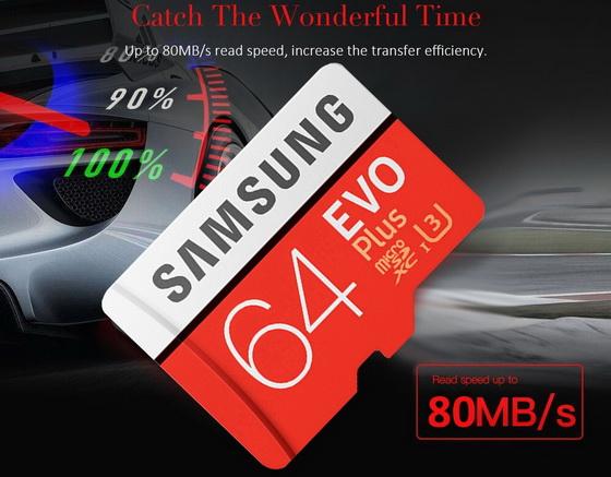 Micro SDXC Memory Card